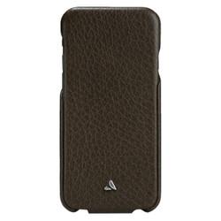 Vaja Top Leather Case iPhone 6+/6S+ Plus - Dark Brown/Birch