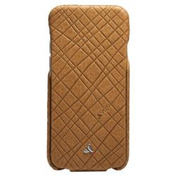Vaja Top Embossed Leather Case iPhone 6/6S - London Striscia
