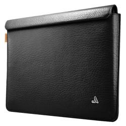 "Vaja Leather Sleeve Case MacBook 12"" - Floater Black"