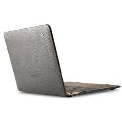 """Vaja Leather Suit Case MacBook 12"""" - Kitten Gray"""