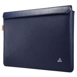 """Vaja Leather Sleeve Case MacBook 12"""" - Crown Blue"""