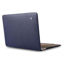 """Vaja Leather Suit Case MacBook Pro 15"""" Touch Bar - Crown Blue"""