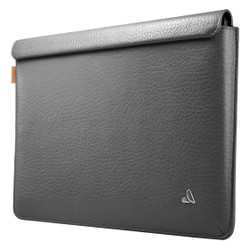 "Vaja Leather Sleeve Case iPad Pro 12.9"" - Floater Pweter Gray"