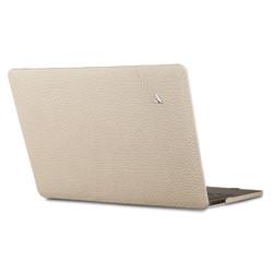"""Vaja Leather Suit Case MacBook Pro 13"""" Touch Bar - Latte"""