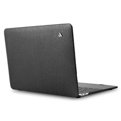 """Vaja Leather Suit Case MacBook Pro 13"""" Touch Bar - Floater Black"""