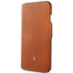 Vaja Agenda MG Leather Case iPhone 7+ Plus - Bridge Saddle Tan