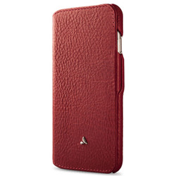 Vaja Agenda MG Leather Case iPhone 7+ Plus - Bridge Chili/London