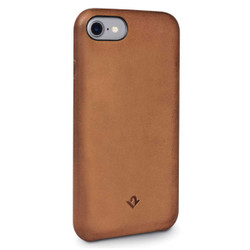Twelve-South Relaxed Leather Case iPhone 8/7/6/6S - Cognac