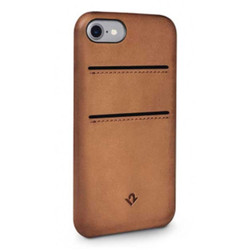 Twelve-South Relaxed Leather w/pockets Case iPhone 8/7/6/6S - Cognac