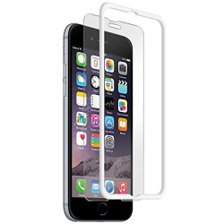 BodyGuardz Pure with The Crown Tempered Glass iPhone 6/6S - White