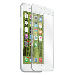EFM Curved Edge Tempered Glass Screen Armour iPhone 7+ Plus - White