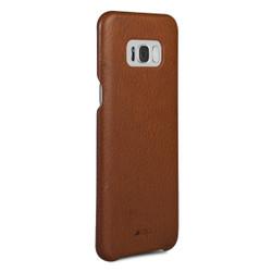 Vaja Grip Leather Case Samsung Galaxy S8 - Bridge Saddle Tan