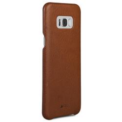 Vaja Grip Leather Case Samsung Galaxy S8+ Plus - Bridge Saddle Tan
