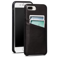 Sena Snap-on Wallet Case iPhone 8+/7+ Plus - Black