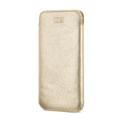 Sena Ultraslim Classic Leather Pouch iPhone 8/7 - Gold