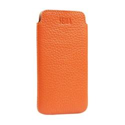 Sena Ultraslim Classic Leather Pouch iPhone 8/7 - Orange