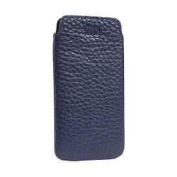 Sena Ultraslim Classic Leather Pouch iPhone 8/7/6/6S - Blue