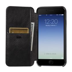 Sena Ultra Thin Wallet Book iPhone 8+7+ Plus - Black