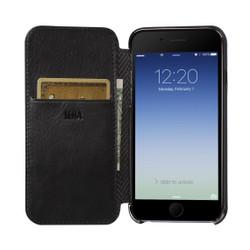 Sena Ultra Thin Wallet Book iPhone 8/7 - Black