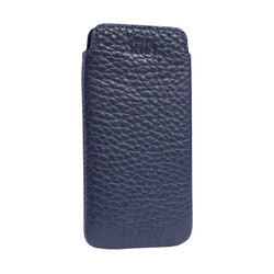 SENA Ultraslim Classic Leather Pouch iPhone 5/5S/SE - Blue