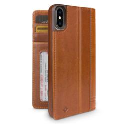 Twelve-South Journal Case iPhone X/Xs - Cognac