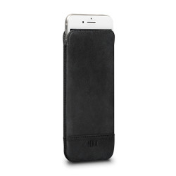 SENA Ultraslim Heritage Leather Pouch iPhone 8+/7+/6+/6S+ Plus - Black