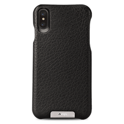 Vaja Grip Leather Case iPhone X/Xs - Floater Black
