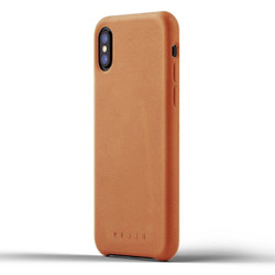 Mujjo Full Leather Case iPhone X - Tan