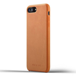 Mujjo Full Leather Case iPhone 8+ Plus - Tan