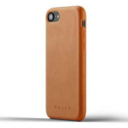 Mujjo Full Leather Case iPhone 8 - Tan