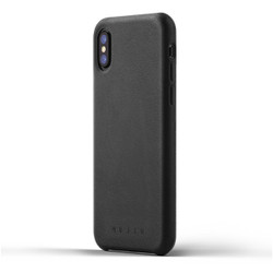 Mujjo Full Leather Case iPhone X - Black