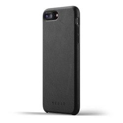 Mujjo Full Leather Case iPhone 8+ Plus - Black