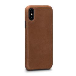 SENA Bence LeatherSkin Case iPhone X - Tan