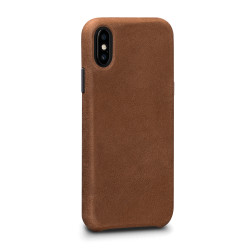 SENA Bence LeatherSkin Case iPhone X/Xs - Tan