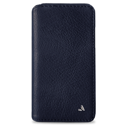 Vaja Wallet Agenda Leather Case iPhone X/Xs - Bridge Blue