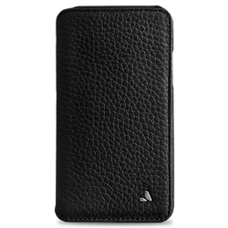 Vaja Wallet Agenda Leather Case iPhone X/Xs - Floater Black