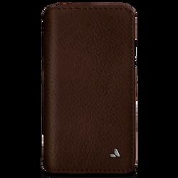 Vaja Wallet Agenda Leather Case iPhone X/Xs - Bridge Pinecone/London