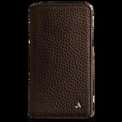 Vaja Wallet Agenda Leather Case iPhone X/Xs - Bridge Dark Brown/London