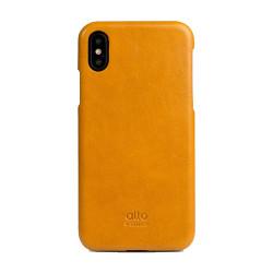 Alto Original Leather Case iPhone X/Xs - Caramel