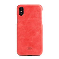 Alto Original Leather Case iPhone X/Xs - Coral