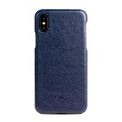 Alto Original Leather Case iPhone X - Navy