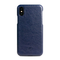 Alto Original Leather Case iPhone X/Xs - Navy