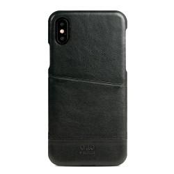 Alto Metro Leather Case iPhone X - Raven