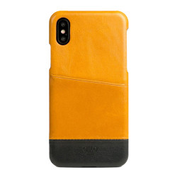 Alto Metro Leather Case iPhone X/Xs - Caramel