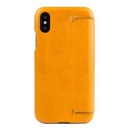 Alto Foglia Leather Case iPhone X/Xs - Caramel