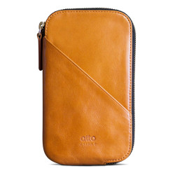 Alto Wallet Mimosa Leather Case iPhone X/Xs - Caramel