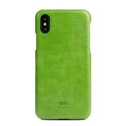 Alto Original Leather Case iPhone X/Xs - Lime