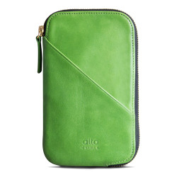 Alto Wallet Mimosa Leather Case iPhone X/Xs - Lime
