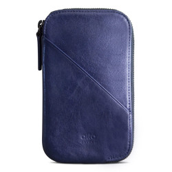 Alto Wallet Mimosa Leather Case iPhone X/Xs - Navy