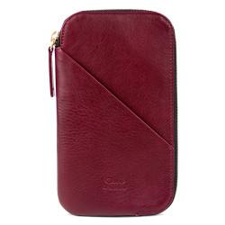 Alto Travel Wallet Leather Case iPhone X - Chianti